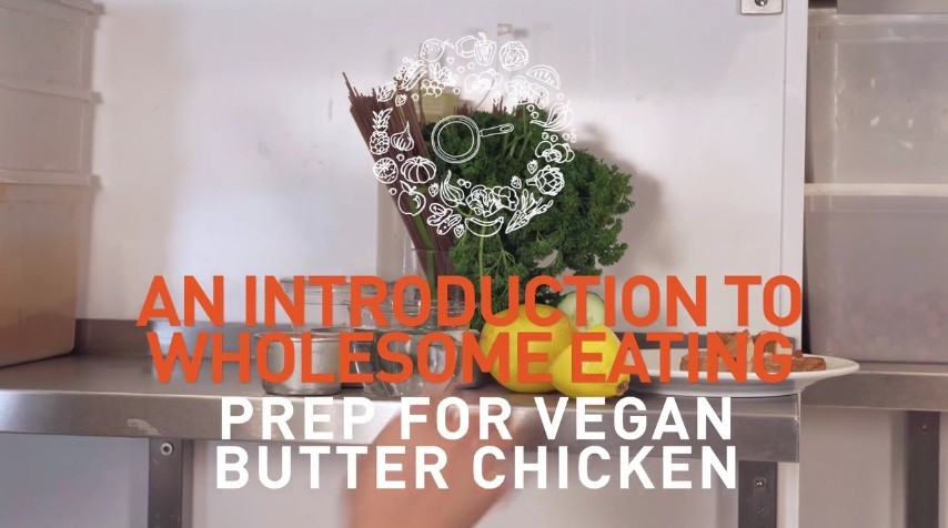 how to prep vegan butter chicken