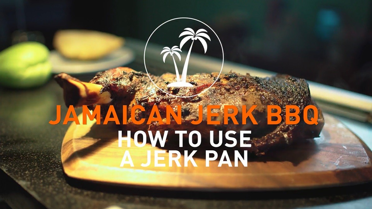 How to use a jerk pan to make Jamaican Jerk BBQ
