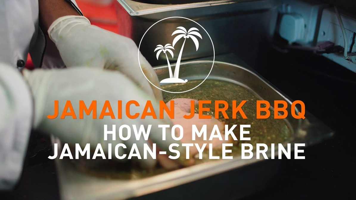 How to make Jamaican-style brine
