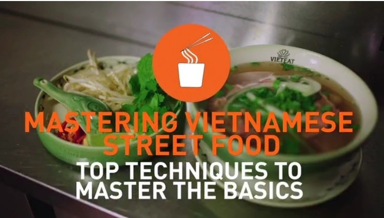 Techniques to master the basics of making Vietnamese street food