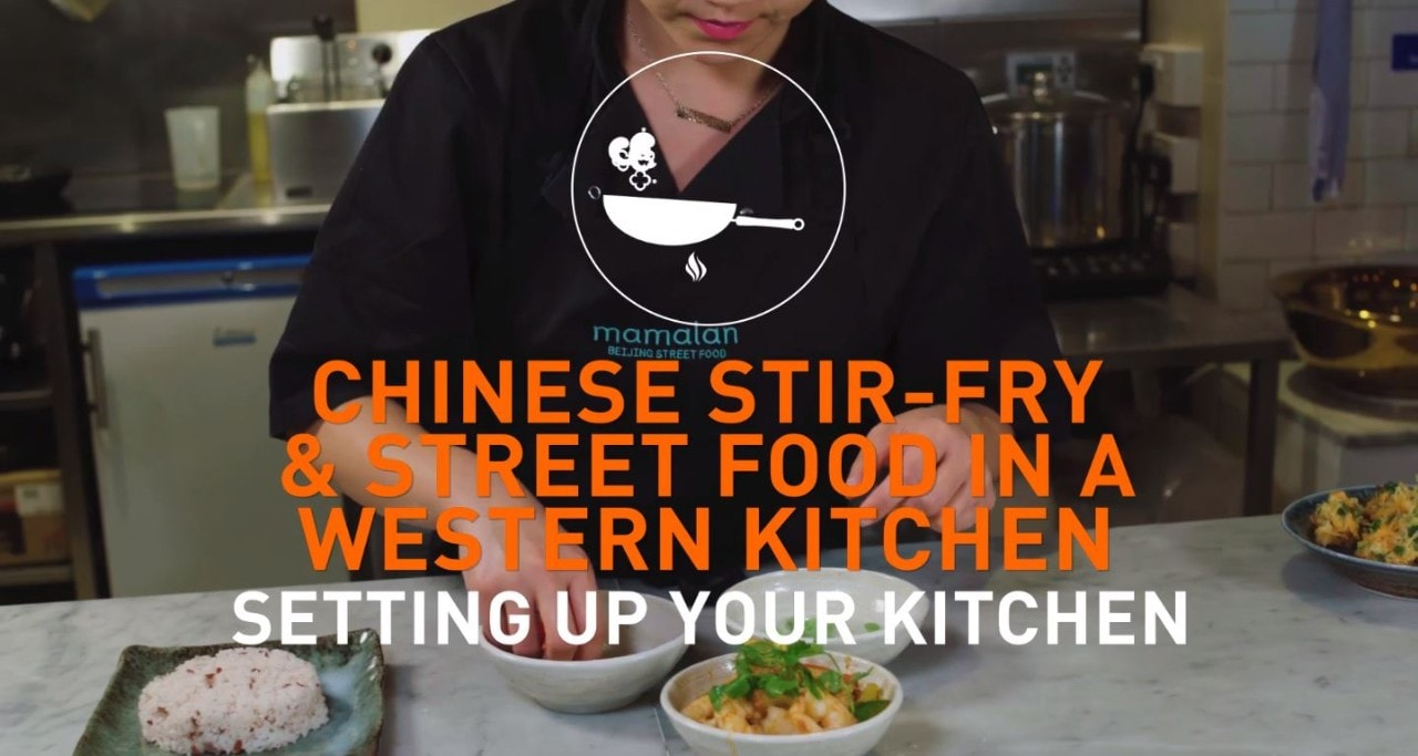 Setting up your kitchen to make a Chinese Stiry-fry
