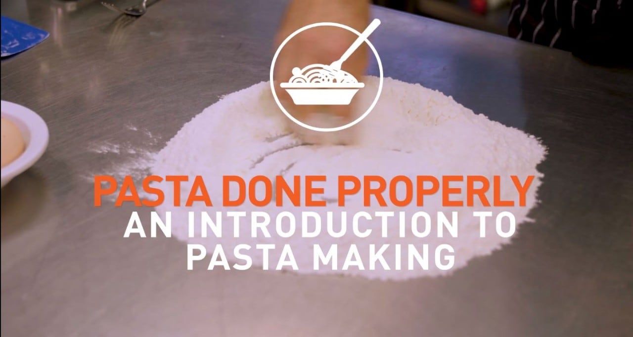 An introduction to pasta making