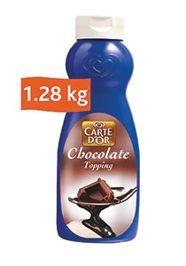 Carte D'or Chocolate Topping (12x1.28KG)