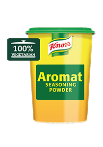 Knorr Aromat Seasoning Powder (6x1KG) - Knorr Aromat enhances the flavour of your vegetarian dishes