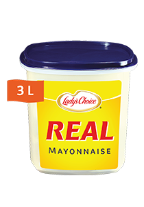 Lady's Choice Real Mayonnaise [Maldives Only] (4x3L) - Lady's Choice Real has the best binding properties that brings out the best in your dishes